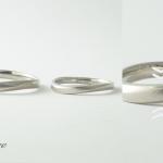 メンテナンス 艶消し×光沢仕上げ 1年使用した指輪のメンテンスどこまできれいになるの?